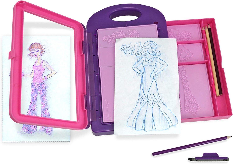 Melissa and Doug- Fashion Design Activity Kit Set diseña tu Moda, Multicolor (XMD-14312)