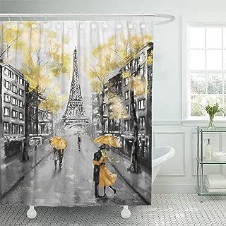 Best paris fabric shower curtain Reviews