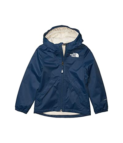 The North Face Kids Warm Storm Rain Jacket (Little Kids/Big Kids) (Blue Wing Teal) Girl