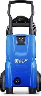 Nilfisk C 110.7-5 X-TRA Hidrolimpiadora de Alta Presión, Metal, Azul, 26 x 29.5 x 66 cm