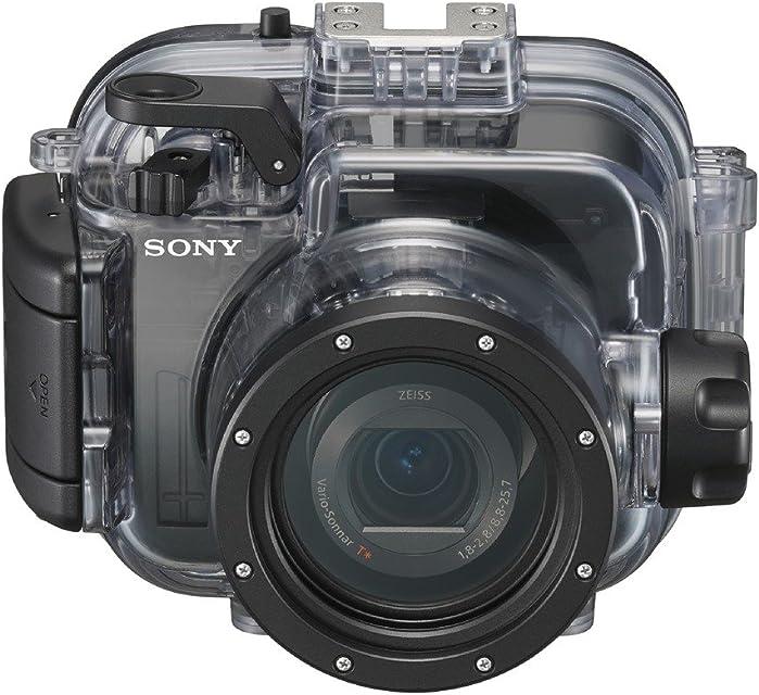 Sony MPKURX100A.SYH - Carcasa submarina (Sumergible hasta 40 m para la Serie RX100) Negro
