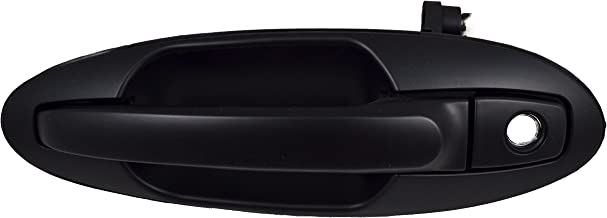 PT Auto Warehouse HY-3305P-FL - Outside Exterior Outer Door Handle, Primed Black - Driver Side Front