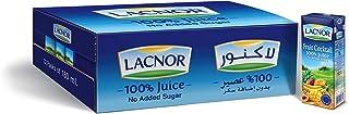 Lacnor Essentials Sugar Free Fruit Cocktail Nectar Juice, 12 x 180 ml