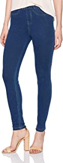 No nonsense Women's Classic Indigo Denim Jean Leggings