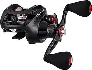 ピシファン(Piscifun)ベイトリール Torrent バス釣り 超強力マグネットブレーキ ギア比7.1:1/5.3:1 ドラグ力8.1kg 左右ハンドル(シャロースプール選択可)