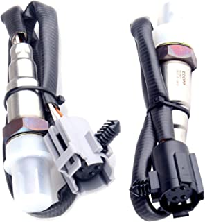 SCITOO Compatible Oxygen Sensor O2 Upstream+Downstream SG1816 SG1815 Replacement fit for 2001-2002 Chrysler PT Cruiser 2.4L 1996-2000 Dodge Ram 1500/2500/3500 Van Durango Dakota B2500/B3500 5.9L 2PCS