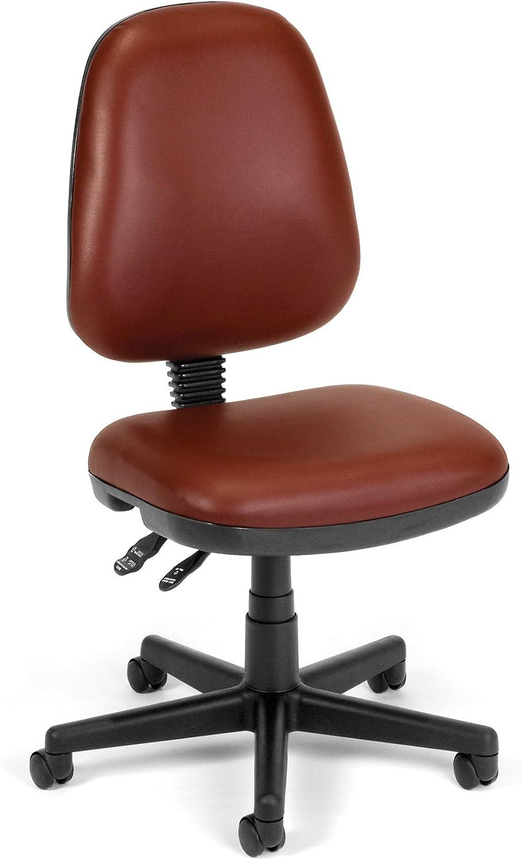 OFM 119-VAM-603 Straton Series Vinyl Task Chair, Wine