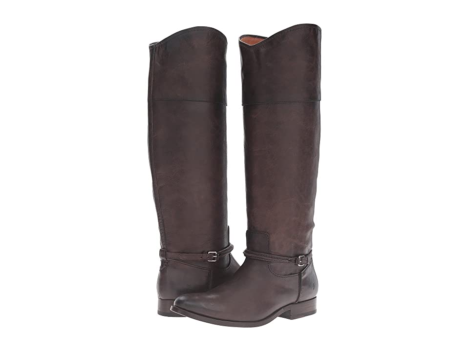 Frye Melissa Seam Tall (Slate Washed Antique Pull Up) Women