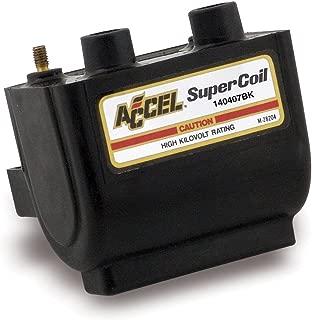 ACCEL (ACC 140407BK) Dual Fire Black Super Coil