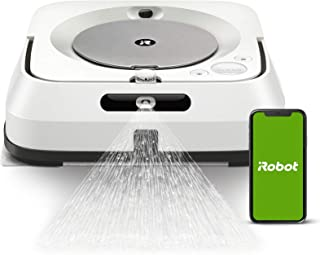iRobot Braava jet m6138 Connected Robot Mop with Precision Jet Spray - Wet Mopping and Dry Sweeping - Learns, Maps, and Ad...