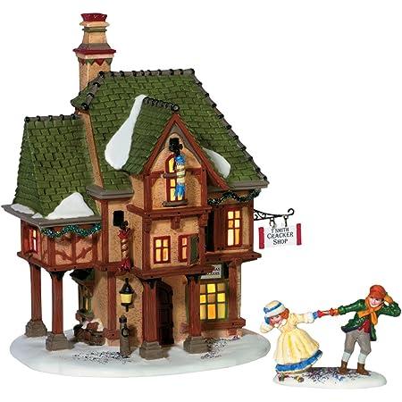 Department 56 Dickens A Christmas Carol Scrooge/'s Boyhood Home Lit Building,