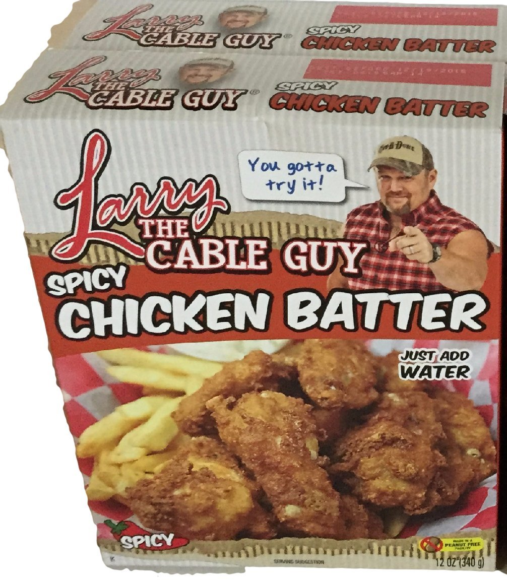 Spicy Chicken Batter Larry Max 87% OFF the Cable Pack A surprise price is realized Ounce Guy Of 12 2