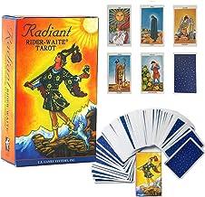 Tarotkort, strålande ryttare väntar tarotkort-kort-set med däck tarotkort, tarotkort och bok för nybörjare (engelska) kort...
