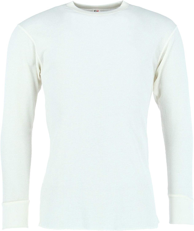Cotton Plus Men's Long Thermal Underwear Top
