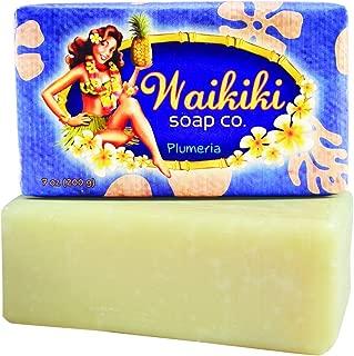 Waikiki - Natural Bar Soap, Plumeria/Frangipani, 7 Oz