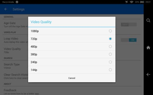 『Daily Tube for DailyMotion』の5枚目の画像