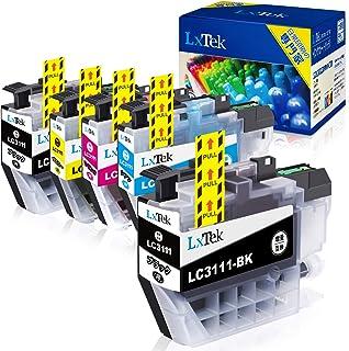 【LxTek】Brother用 ブラザー LC3111 インクカートリッジ 5本セット(4色セット+ 黑1本) LC3111-4PK 『互換インク/2年保証/大容量/残量表示/個包装』