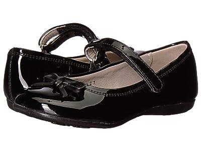 Kid Express Rosie (Toddler/Little Kid/Big Kid) (Black Patent) Girls Shoes