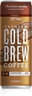 7-Select Premium Cold Brew Coffee-Chocolate Mocha, 11 Ounce Cans (12 Pack)