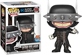 Funko Batman Who Laughs (PX Exclusive): DC Universe x POP! Heroes Vinyl Figure & 1 POP! Compatible PET Plastic Graphical Protector Bundle [#256 / 34698 - B]