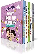 Zayn and Zoey First Box of Learning - Set of 5 board books (Vehicles, Seasons, Farm Animals, Wild Animals, Birds) - Box Se...