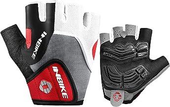 INBIKE Vingerloze Heren Fietshandschoenen Met Gel Ademend Elastiek Voor Fietsen Fietsen Hardlopen Buitenactiviteiten