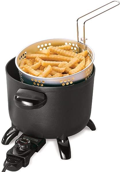 Presto 06006 Kitchen Kettle Multi Cooker Steamer One Size Cast Aluminum Base