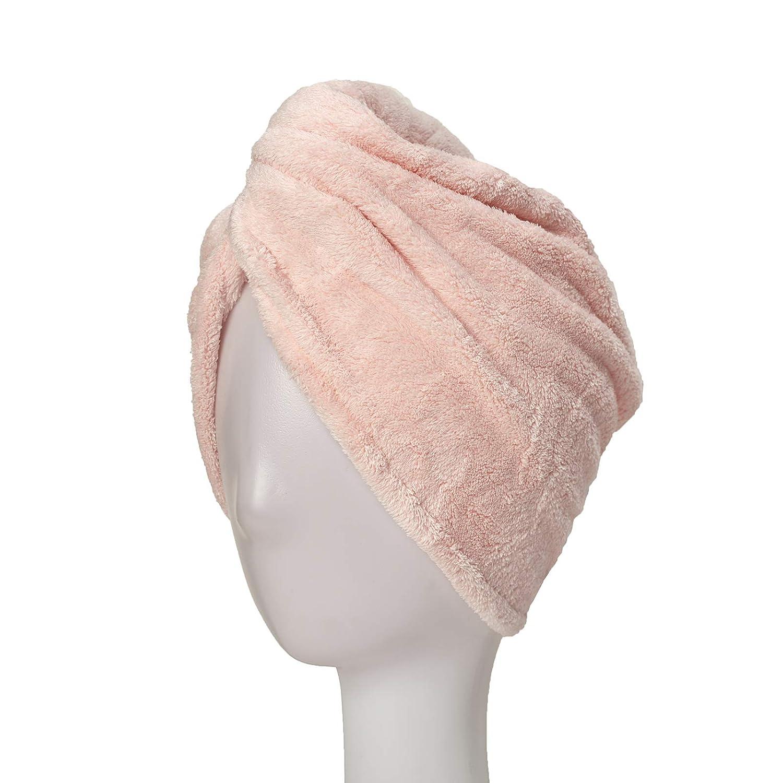 Hair Dry Towel Wrap for Women, 1 Pack Magic Instant Hair Dry Tur