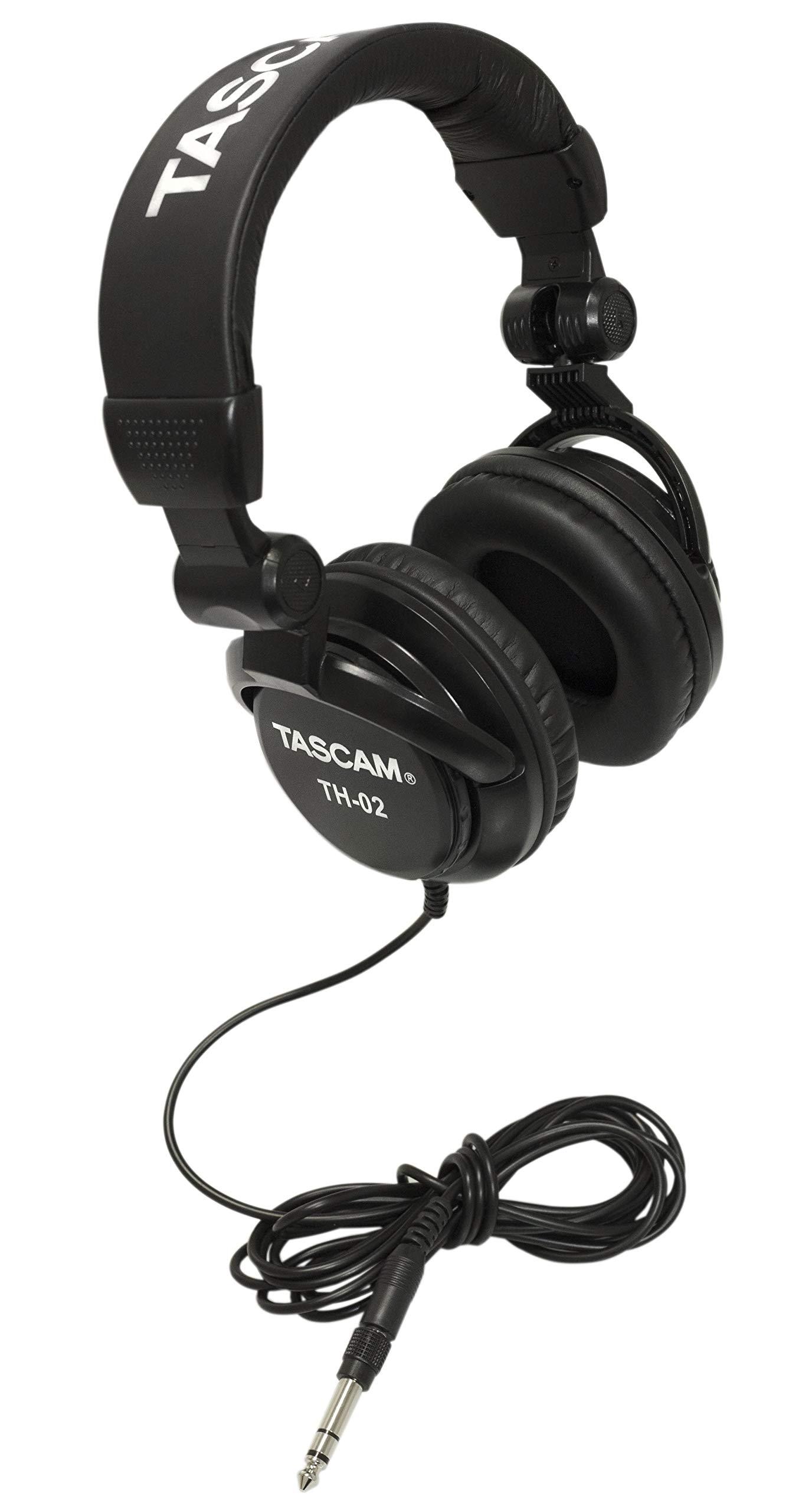 Tascam TH 02 Closed Studio Headphones