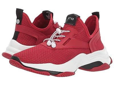 Steve Madden Myles Sneaker (Red) Women