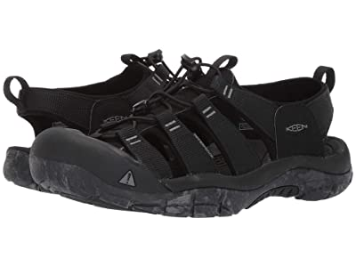 Keen Newport H2 (Black/Swirl Outsole) Men