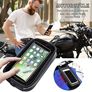 BDSONG Motorcycle Fuel Tank Bag Magnetic Oil Bag Phone Holder Pouch for iPhone Cell Phone