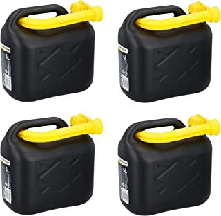 4x Kraftstoffkanister 5L Benzinkanister Diesel Reserve Kanister für Auto Roller