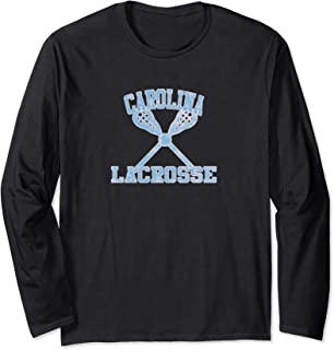 Vintage Carolina Lacrosse  Long Sleeve T-Shirt