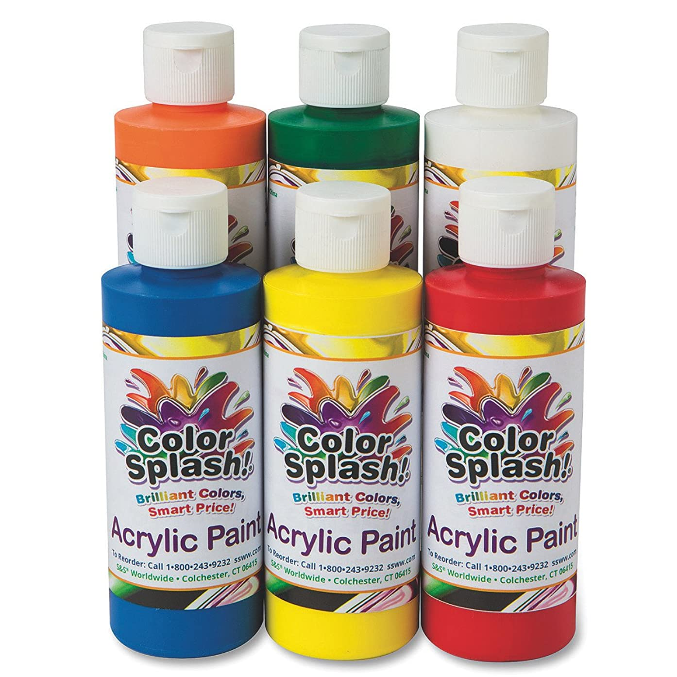 8 oz. Color Splash! Acrylic Paint Assortment