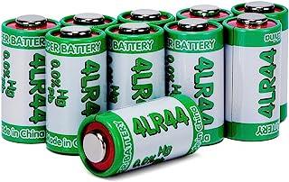 LiCB 10 PCS 4LR44 6V Alkaline Battery for Dog Training Collars
