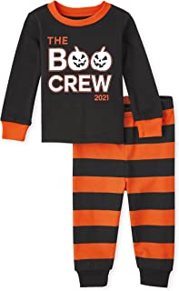 The Children's Place Baby and Toddler Halloween 2 Piece Snug Fit Cotton Pajamas