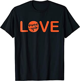 Swag Swami Love With Pune In English And Marathi T Shirt
