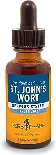 Herb Pharm St. John's Wort Liquid Extract for Positive Mood and Emotional Balance, Cane Alcohol, 1 Fl Oz