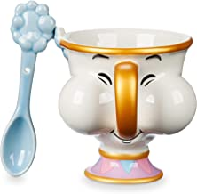 Disney Chip Teacup and Spoon Set - Beauty and The Beast