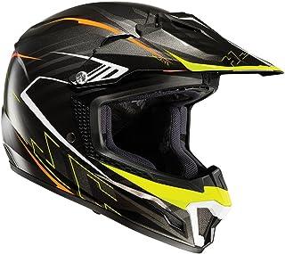 HJC CL-XY II Blaze Kinderhelm Motorrad Motocross Dual Sport Helm Mc5 Schwarz M 51-52Cm