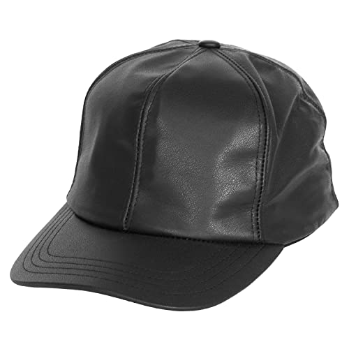 f31be39990725 Levine Hat Company Genuine Cowhide Leather Baseball Cap. (2 Colors)