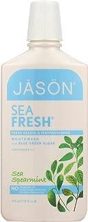 Jason Sea Fresh Strengthening Sea Spearmint Mouthwash, 16 oz