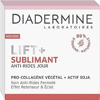 Diadermine - Lift+ Sublimant - Crème Soin de Jour - Anti-Rides Ultra Fermeté - Soin Fermeté - Pro-Collagène végétal et act...