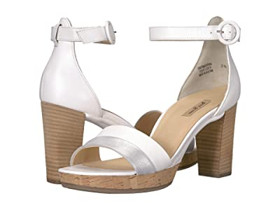Paul Green Alegra Heel (Silver White Combo) High Heels
