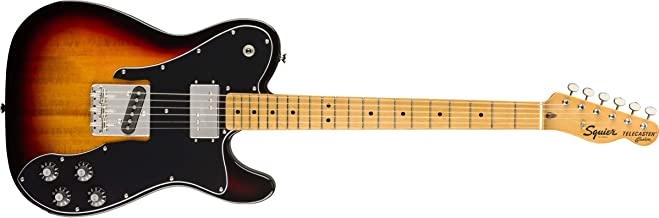 Squier by Fender Classic Vibe 70's Telecaster Custom Electric Guitar - Maple - 3-Color Sunburst