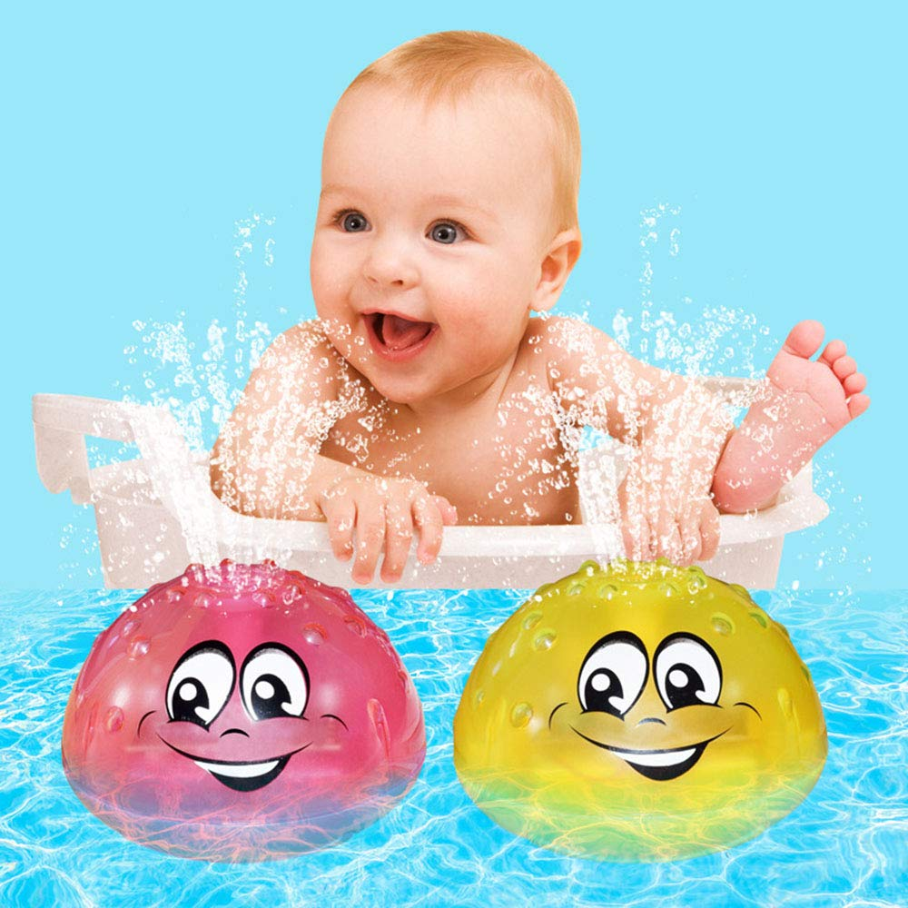 Battery not Included Bath Play Bath Spray Toys Electric Automatic Bathing Water Toy with Music and Lights Bath Toys with Music /& Lamp