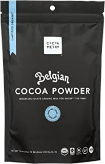 Cocoa Metro Organic Cocoa Powder - Belgian - Case of 6 - 10 oz. - Pack of 6