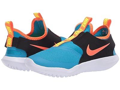 Nike Kids Flex Runner (Little Kid) (Laser Blue/Hyper Crimson/Black) Kids Shoes