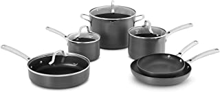 Calphalon Classic Hard-Anodized Nonstick Pots and Pans, 10-Piece Cookware Set
